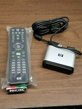 HP Media Center Remote Control 5069-8344 & HP OVU400103/00 IR Infrared Receiver