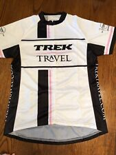 2012 Anniv Bontrager Trek Travel Cycling Jersey Women's Large Pink Shirt Bike