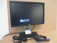 """Dell P1911b 19"""" LCD Monitor with Stand + Power & Vga Cables - Free Shipping"""
