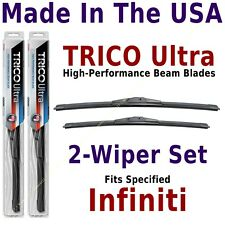 Buy American: TRICO Ultra 2-Wiper Blade Set fits listed Infiniti: 13-24-19