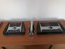 800a2 and 400a4 Rockford fosgate Old School Amplifiers and a 2 farod tsunami cap