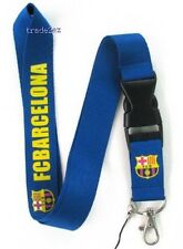 WRISTBAND BAND KEYCHAIN key lanyard BARCELONA REAL MADRID FC MESSI RONALDO