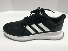 Adidas Runfalcon Black White Athletic Shoes Running Women's Size 8M, Comfort,