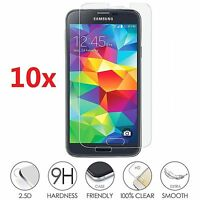 10x Wholesale Lot tempered glass screen protector for Samsung S3 S4 S5 S6  NOTE5