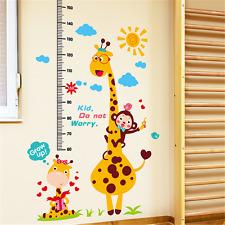 Removable Cartoon Animal Wall Stickers Kindergarten Kids Nursery Room Wall Decor