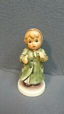 "Goebel Hummel Figurine ""Keeping Time"" Hum 2183 With Original Box #1878"