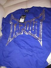 Two Tapout men's blue t-shirts size medium new with tags