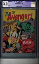 Avengers #1 CGC 3.0 restored - Australian edition - very rare - Jack Kirby