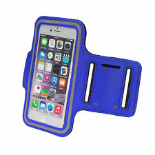 Sports Running Jogging Gym Armband Waterproof Cover for iPhone 5,5s,5c Dark Blue