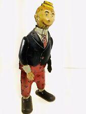 Vintage 1920s Strauss Boob McNutt Tin Wind Up / Works
