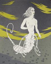 """""""L'antigone"""" Lithographie de Félix LABISSE"""