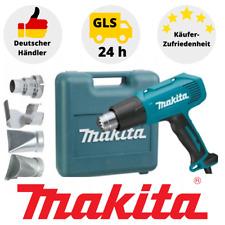 Makita Heißluftgebläse HG5030K 1600W 500°C Heißluftpistole Düsenset Koffer Löten