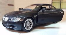 BMW M3 3 series Black 2006 G LGB 1:24 Scale Diecast Very Detailed New Ray 71053