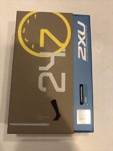 2XU Men's 24/7 Graduated Compression Socks Black/Black X-Large