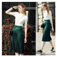 Unbranded Silk Pleated, Kilt Skirts for Women