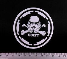 Elite Stormtrooper 501st Sticker Star Wars Laptop PC Decal iPad Phone Bumper