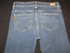 Paige Premium Jeans Robertson Low Waist Flare Distressed Sz 28