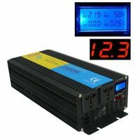 2000W/4000W DC 12V TO AC 220V-240V Pure Sine Wave Power Inverter+Charger UPS NEW