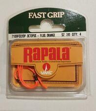 Rapala Fast Grip Octopus Hooks - Fluro Orange