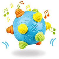 Baby Music Shake Dancing Ball Toy Free Bouncing Sensory Developmental Ball Toy E