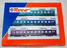 """ROCO set 3 vagoni """" Regenbogenzug """" art. 44107 HO"""