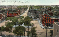 "Youngstown Ohio ""Central Square"" South View 1910"