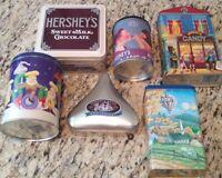 Hershey Vintage Tin Lot