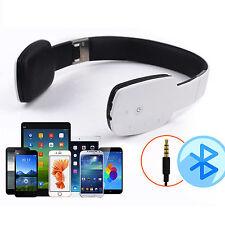Premium HD Stereo Wireless Bluetooth Headset Headphone Earphone For iPhone Nokia