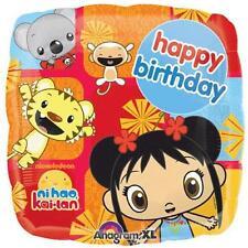 "Ni Hao, Kai-Lan Nick Jr TV Birthday Party Decoration 18"" Square Mylar Balloon"