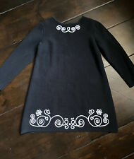 Hanna Andersson Black Sweater Dress Size 120