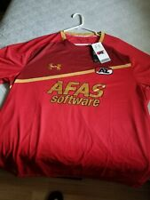 New Under Armour Men'S Az Alkmaar Soccer Home Jersey Shirt Sz. 3Xl
