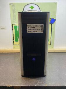 CHEAP INTEL C2D E4500 2.2GHZ 2GB 160GB WINDOWS 7 CHEAP PC TOWER COMPUTER DESKTOP