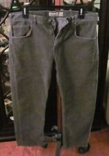 Patagonia Mens Iron Clad Corduroy Pants Blue / Grey Sz 38 x 30