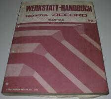 Werkstatthandbuch Honda Accord 4.Generation ab Baujahr 1992 Reparaturanleitung
