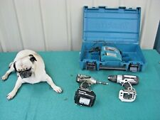 Makita BDF452 Drill BTD142 Impact 18 Volt Cordless + Battery, Charger, Case