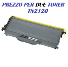 CARTUCCIA PER BROTHER DCP-7030 DCP-7032 DCP-7040 DCP-7045N X  DUE TONER TN2120