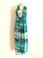 MANNING CARTELL!!! Stunning 'Manning Cartell' watercolour print silk dress