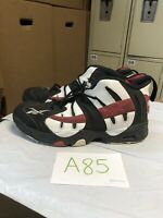 Reebok The Rail US Men, Size 9. Black/White/Red V54959 Basketball Sneakers Shoes