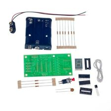 7 Segment LED Display Kit Electronics Project Soldering Learn Electronics Binary