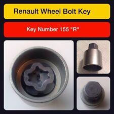 Original Renault Sperrende Radmutter / Schlüssel 155 R