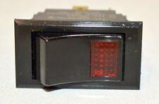 Carling Technologies Illuminated Switch-Momentary:10A, 250VAC