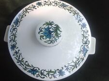 "1 x Midwinter Spanish Garden Serving Dish with Lid 8.5"" diam  perfect dondition"