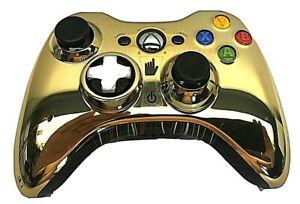 Microsoft XBOX 360 Wireless Controller Star Wars C3PO Gold Edition Authentic