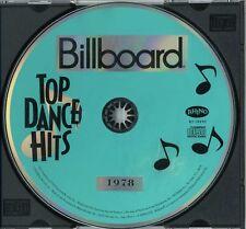 Billboard Top Dance Hits 1978 (1992 U.S. 10 Track CD) * VILLAGE PEOPLE * CHIC