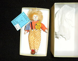 Calico Clown #32 of 500 Made Rare Jane Davies Deb Canham Artist Designs
