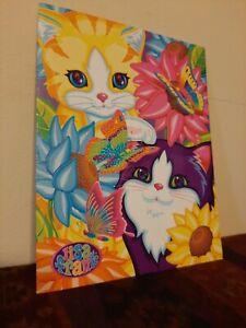 Lisa Frank Folder Cats And Butterflies 2003