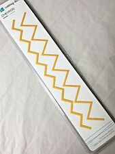 LifeStyle Crafts/QuicKutz Cutting Dies (2) - Chevron - DC0068 -  NEW