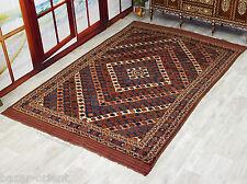 320x210 cm fina calidad Afghan Turkman bashir Orient alfombra afganistán n-129