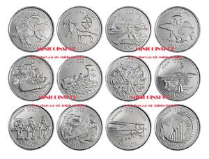 Canada 1999 25-Cent Millennium Quarters 12 Coin Full Set BU