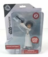 Disney Store Star Wars Toybox Princess Leia Organa Exclusive Action Figure New